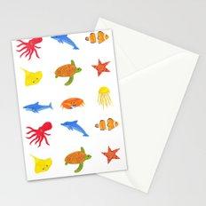Sea Life! Stationery Cards
