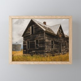 Abandoned House Idaho, United States Framed Mini Art Print