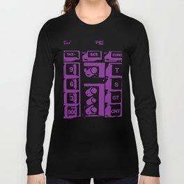 Calculator Long Sleeve T-shirt