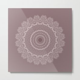 Thousands and One Nights Mandala in 3D Metal Print