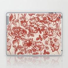 Toile de jouy (Roses) Laptop & iPad Skin