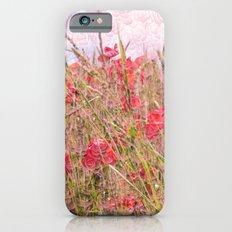 field of poppies iPhone 6s Slim Case