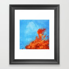 Eeeeevvviiiiillll Framed Art Print