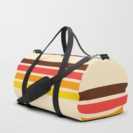 African Retro Stripes Duffle Bag