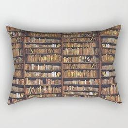 Books, books, books Rectangular Pillow