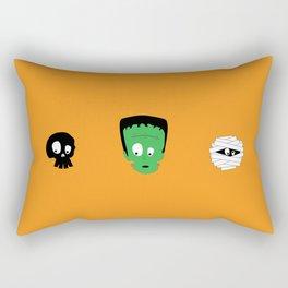 Halloween trio Rectangular Pillow