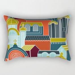 Ukrainian Churches Rectangular Pillow
