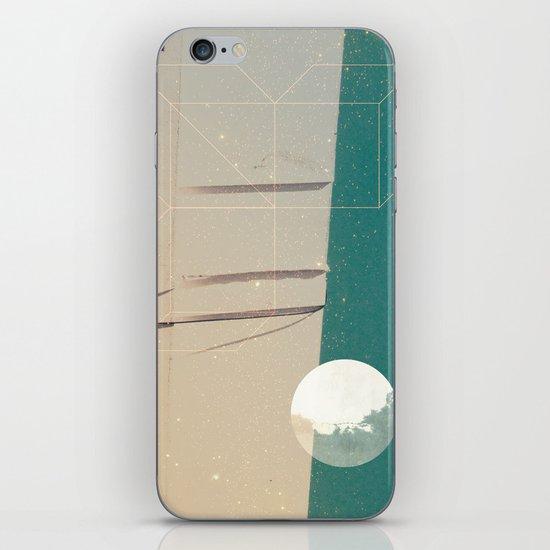 upside world iPhone & iPod Skin