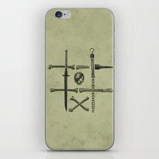 Noughts & Crossbones iPhone & iPod Skin