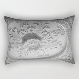 Art Above Rectangular Pillow