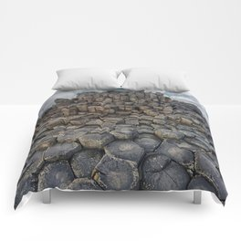 The world of hexagonal stones Comforters