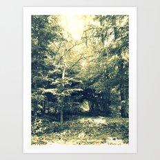 Enter Into Magic Art Print