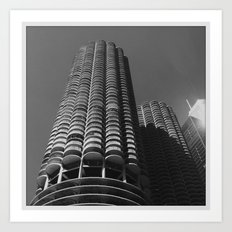 Marina Towers Art Print