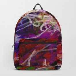 Rainbow Abstract Backpack