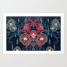 Abstract Symmetrical Art Print
