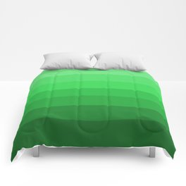 Shades of Grass Green - Color Therapy Comforters