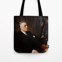 FDR Official Portrait Tote Bag