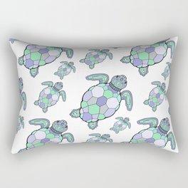 Sea turtles. Rectangular Pillow