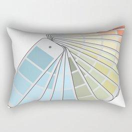 Paint Swatches Rectangular Pillow