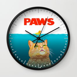Paws! Wall Clock