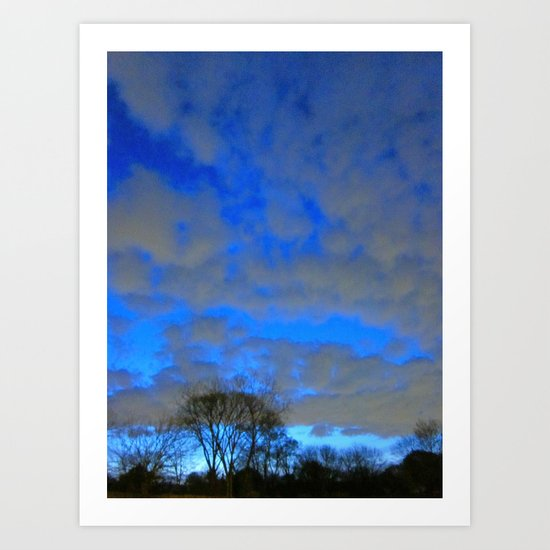What Dream Does The Morning Sky Say To Me? Art Print