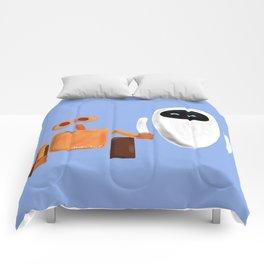Wall-E and Eve Comforters