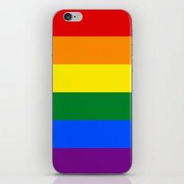 LGBT Pride Flag (LGBTQ Pride, Gay Pride) iPhone Skin