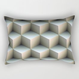Ambient Cubes Rectangular Pillow