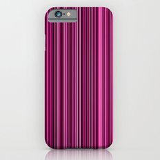 Pink Stripes Slim Case iPhone 6s