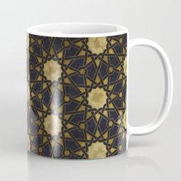 Islamic decorative pattern with golden artistic texture Coffee Mug