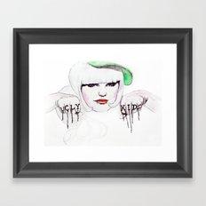 Ugly Kids Framed Art Print