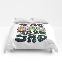Too Rad To Be Sad Comforters