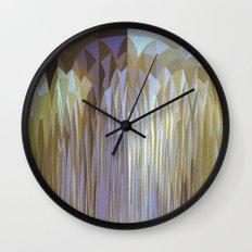Icy Blast Wall Clock