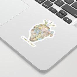 A Traveller's Heart (UK) Sticker
