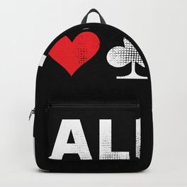 All in Poker | Funny Gambling Gift Backpack