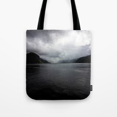 Clouded Fjord Tote Bag