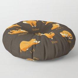 Yoga Cat Floor Pillow