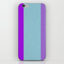 Re-Created Interference ONE No. 23 by Robert S. Lee iPhone Skin