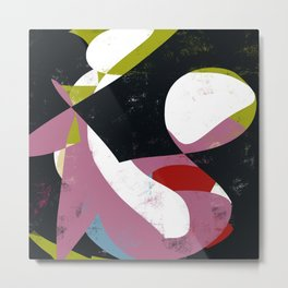 Newlook vol 1 - Abstract Throw Pillow / Wall Art / Home Decor Metal Print