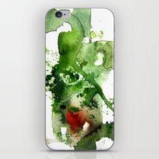 Watercolor Green iPhone & iPod Skin