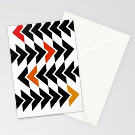 Arrows Graphic Art Design Stationery Cards