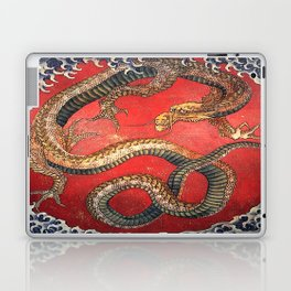 Dragon by Hokusai Laptop & iPad Skin