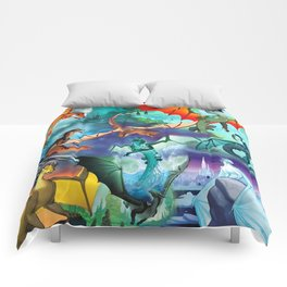 Wings of fire all dragon bg Comforters