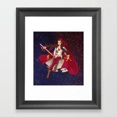Jedi Jade Framed Art Print