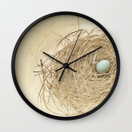 Petit Nest Wall Clock