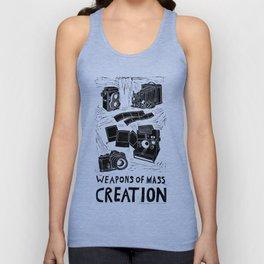 Weapons Of Mass Creation - Photography (blockprint) Unisex Tank Top