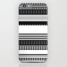 Graphic_Black&white Slim Case iPhone 6s