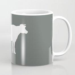 Cow: Dark Grey Coffee Mug
