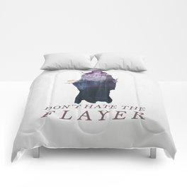 Mind Flayer (Typography) Comforters