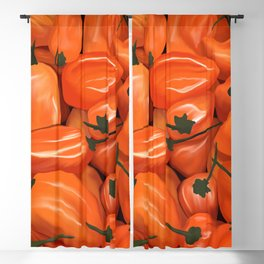 Habanero Peppers Blackout Curtain